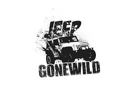 jeep shirt modern bold t shirt design for jeep gone wild by petowesd