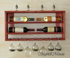 wooden wine rack white shelf wedding gift gift for father