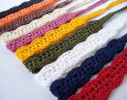 crochet bands crochet headband etsy