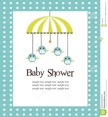 baby shower cards baby shower card for boys stock photo image 13820590