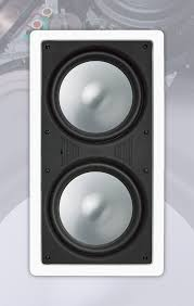 8 inch subwoofer home theater rbh sound mcs 88 in wall subwoofer