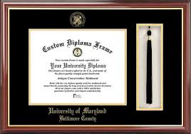 degree frames of maryland baltimore county diploma frames certificate