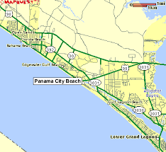 map of panama city panama city maps of the panama city area