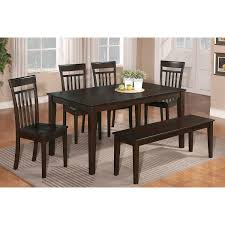 Wooden Dining Room Sets by Awesome Dinette Sets With Bench Homesfeed