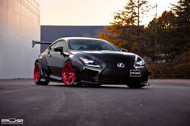lexus rc rocket bunny pur wheels