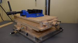 drill press milling table making cnc xy milling table part 1 building the base and testing