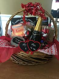 engagement gift baskets wedding planning gift basket