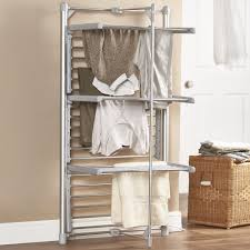 laundry room compact room design laundry drying rack wall
