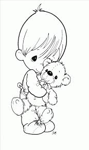 precious moments baby coloring pages free download precious