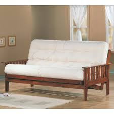Futon Frame And Mattress Coaster Futons Casual Futon Frame With Slat Side Detail Coaster