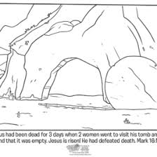 printable coloring pages of jesus resurrection archives mente