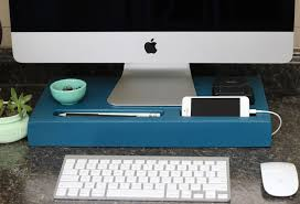 Build A Charging Station Diy Monitor Riser And Charging Station Fynes Designs Fynes Designs