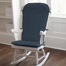 Rocking The Chair Solid Navy Rocking Chair Pad Carousel Designs