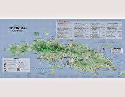 St Croix Map Life In The Virgin Islands Life On The Rock Grocery Shopping