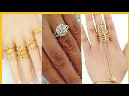 golden hand ring holder images Gold ring design for women 2017 2018 jpg