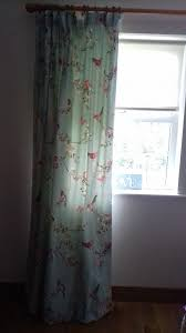 Curtains 90 Inches Dunelm Thermal Lined Curtains 90 Inches 228 Cm Length Birds Duck