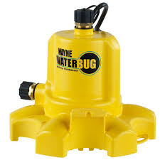 wayne waterbug submersible utility pump with multi flo technology