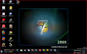 post a screenshot of your windows 7 desktop