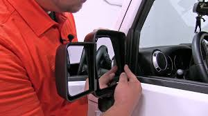 2014 jeep towing installation of the rage towing mirrors for jeeps on a 2014