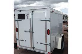 travel trailer with garage cargo trailers authorized atlas trailer dealer