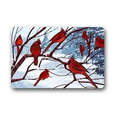cardinal bird home decor stunning female cardinal bird art