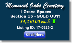 cemetery lots for sale houston tx buy sell plots burial spaces crypts niches