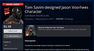 playstation store black friday 2017 sony accidentally posts backer exclusive tom savini jason friday