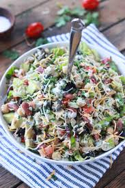 Mexican Pasta Salad Mexican Chopped Tuna Salad With Creamy Cilantro Dressing Little
