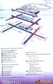 Star Alliance Route Map Suvarnabhumi Airport Access Bus Routes Amd Taxis In Bangkok Thailand