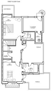 8 marla floor plan a izhar monnoo developers