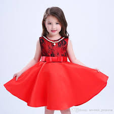 2018 Kids Party Dress Of Girls Girls Christmas Dress New High Grade