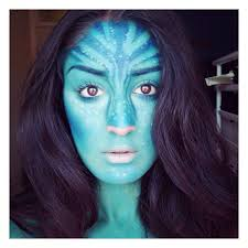 Halloween Avatar Costume Halloween Makeup Straight Instagram