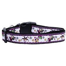 mardi gras jester ribbon dog mirage pet products mardi gras ribbon dog collar