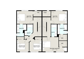 Duplex Floor Plan by Town Homes Elkridge Ca