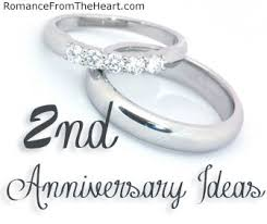 2nd anniversary gift ideas for 2nd anniversary ideas romancefromtheheart