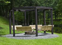 Firepit Swing Awesome Pit Swing Set Home Design Garden Architecture