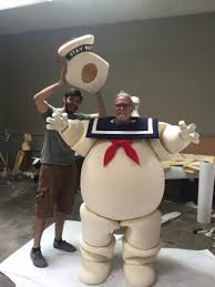 Stay Puft Marshmallow Man Costume Stoopid Buddy Stoodios How We Built The Stay Puft Marshmallow Man