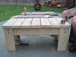 Diy Patio Bench by Diy Furniture My Husband U0027s Homemade Patio Bench U2013 Two Frugal