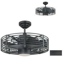 downrod mount ceiling fan kendal lighting enclave 23 in natural iron downrod mount ceiling