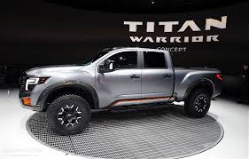 nissan titan warrior nissan titan warrior concept debuts in detroit with loads of