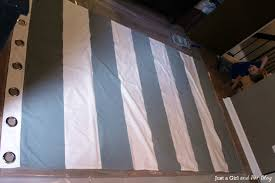 Black And White Striped Curtain Panels Painted Stripes Horizontal Stripedrtains For Interior Design Ideas