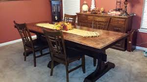 Formal Dining Room Sets Ana White Triple Pedestal Formal Dining Room Table Diy Projects