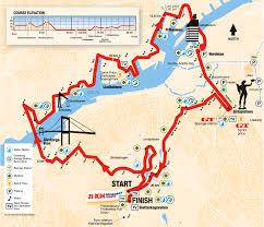 Boston Marathon Course Map by Goteborg Half Marathon 2016 2017 Date Registration Course Route