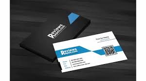 free download black u0026 blue corporate business card template with