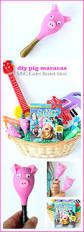 diy pig maracas sing movie easter basket ideas for preschoolers