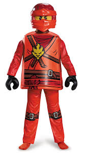 ninja halloween costume kids kids lego ninjago kai boys costume 47 99 the costume land