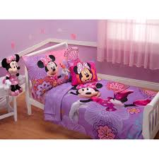 minnie mouse bedroom set white sleigh toddler girls bed with purple pink minnie mouse