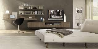 contemporary tv wall unit melamine elm z507 zalf