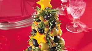cheese olive appetizer tree recipe bettycrocker