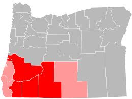Oregon Ava Map by Southern Oregon Wikipedia